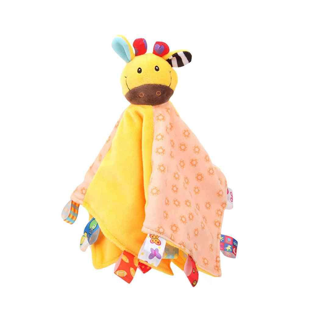 Soft Animal - Snuggle Comforter Blanket Puppet Toy