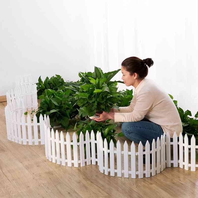 Plastic Courtyard, Indoor Garden, Kindergarten, Flower, Vegetable Small Fence