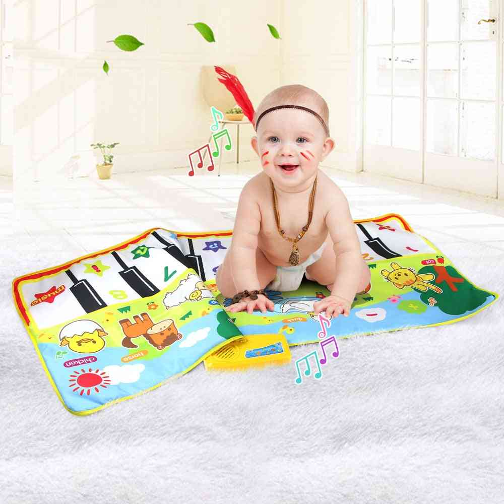 Baby Musical Mat Large Size- With Animal Theme