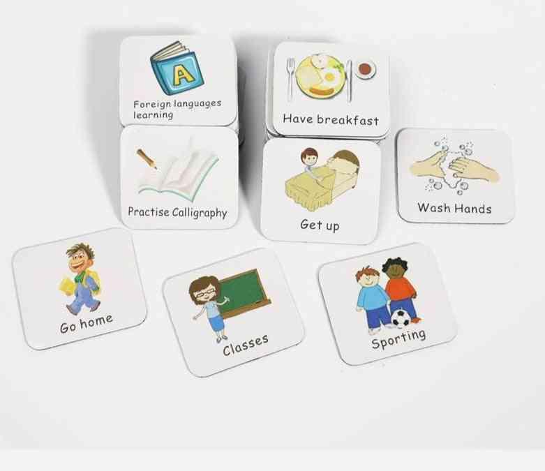 Children Task, Good Habit Magnetic Stickers, Montessori Kids Toy