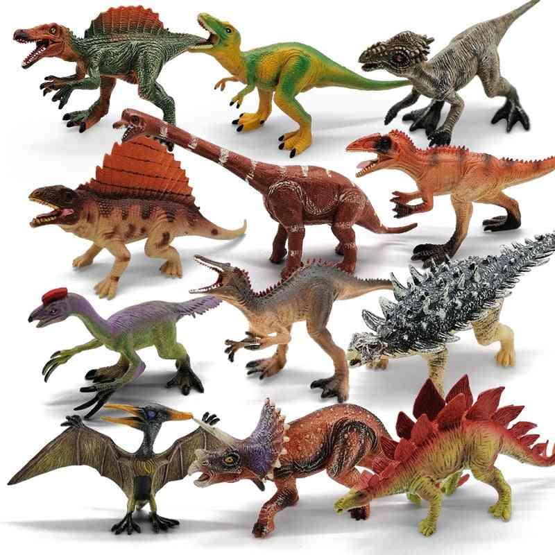 Realistic Dinosaurs, Plastic Assorted World Series, Velociraptor Figure