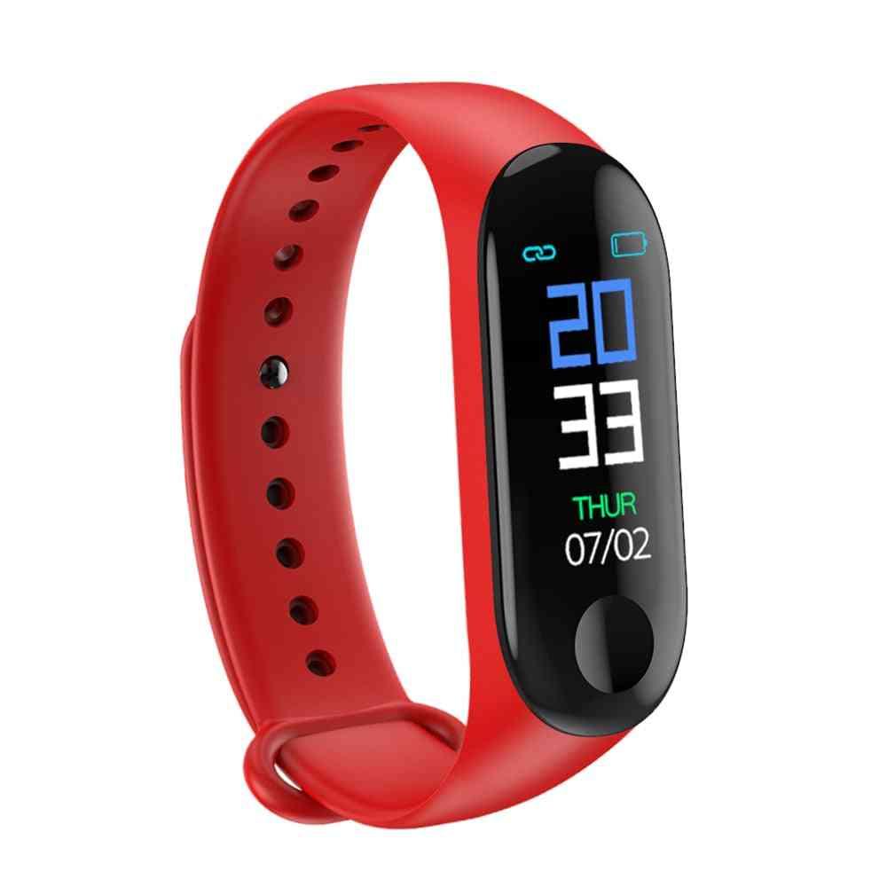 M3 Fitness Tracker Smart Bracelet- Heart Rate, Blood Pressure Monitor