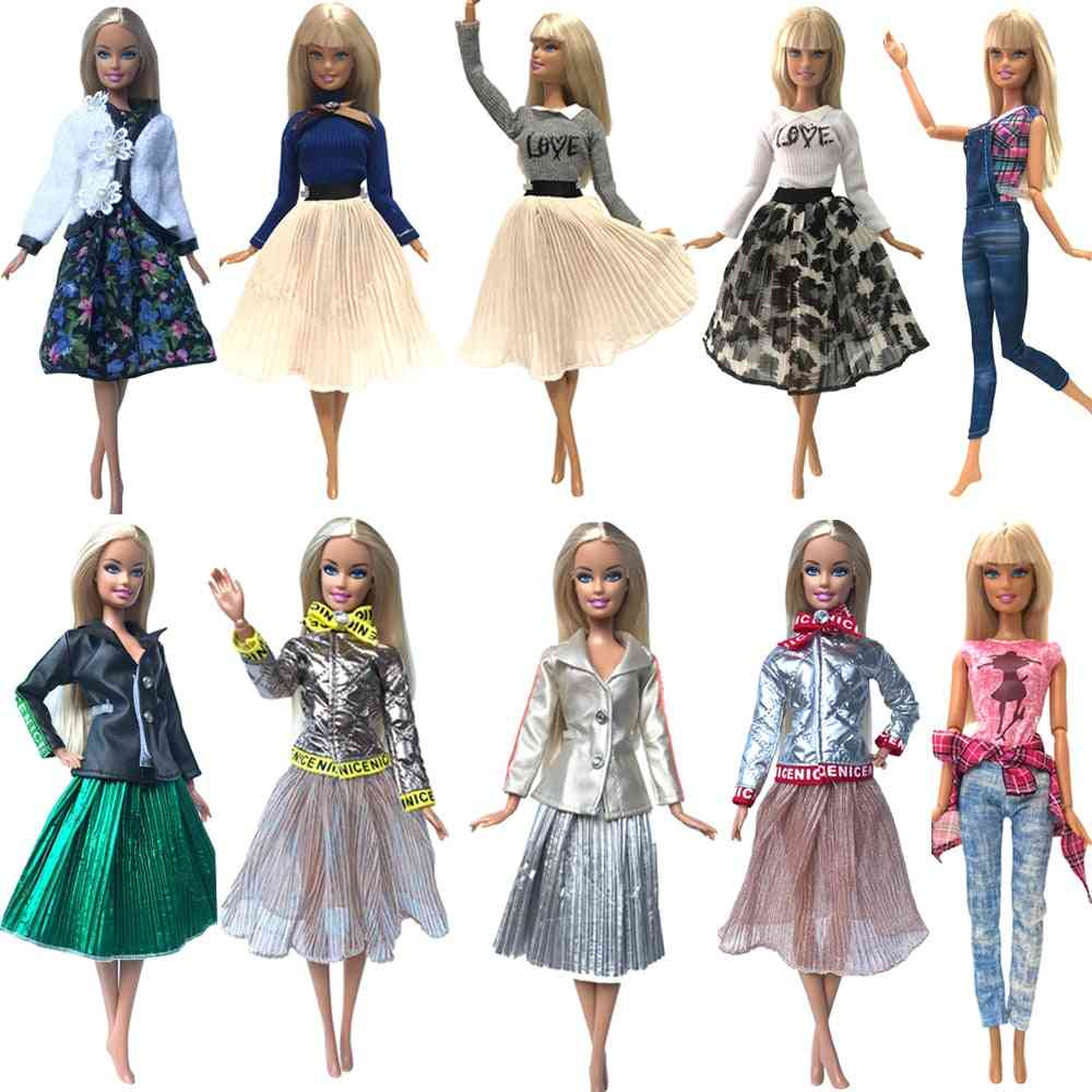 Casual Wear, Handmade Fashionable Clothes For Barbie Doll