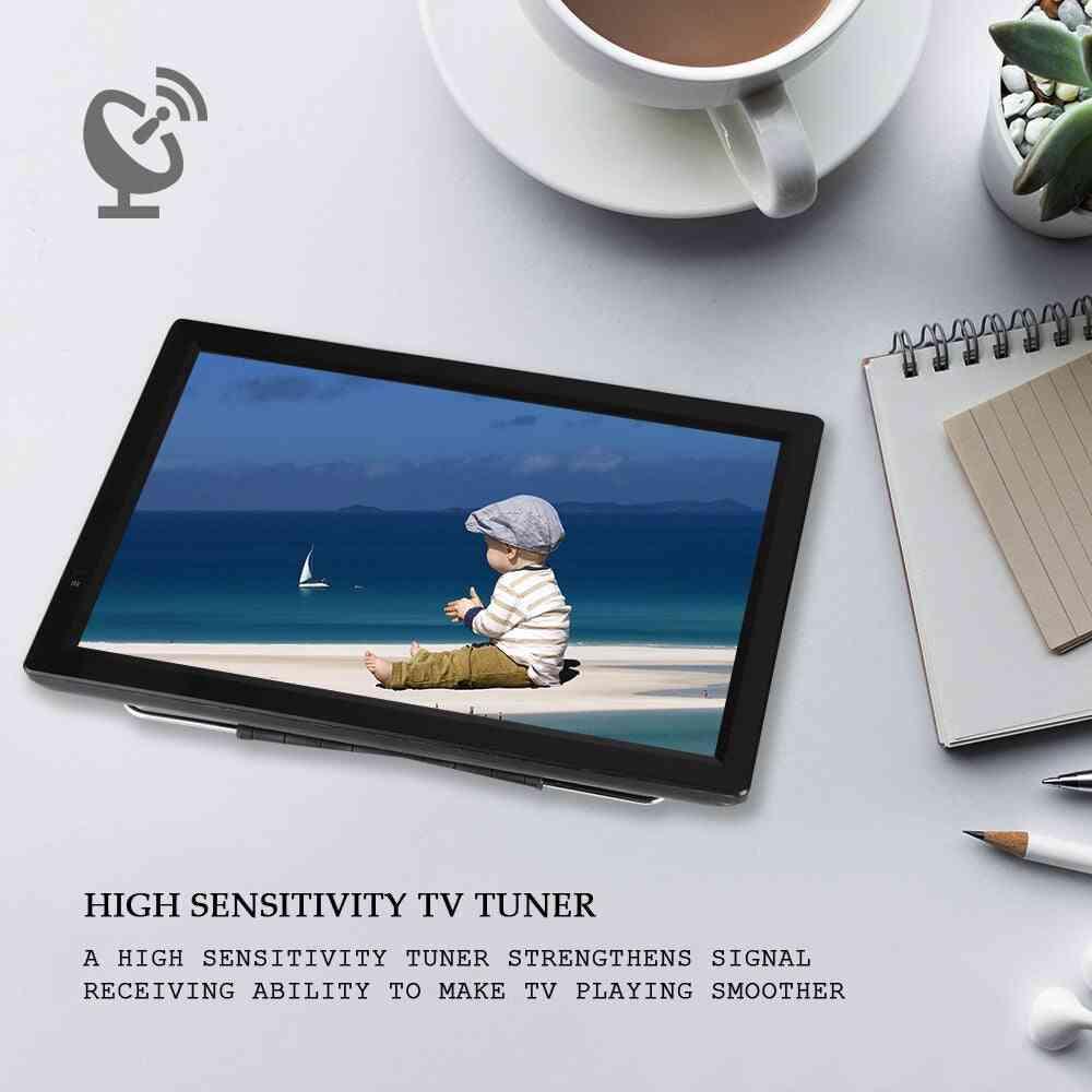 Uhf/vhfatv/ 14inch Portable Digital Tv High Sensitivity Tuner Tv Program Recording 1080p