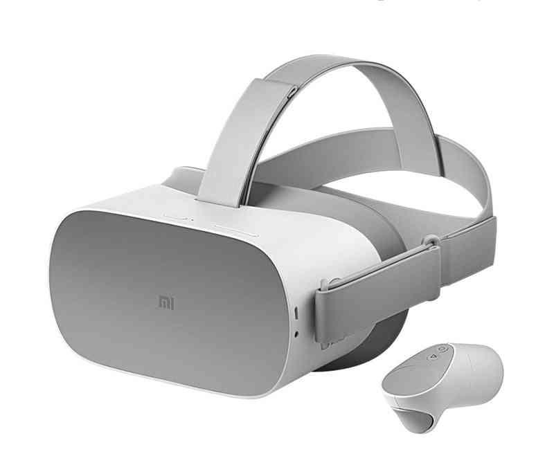 3d Vr Glasses- All-in-one Wireless Wifi Helmet