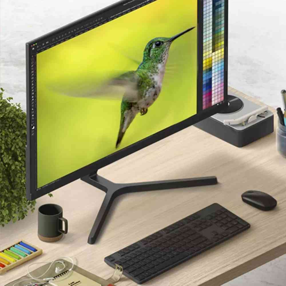 Desktop Pc Monitor 1a 24 Inch 1080p Full Hd Display Screen Low Blue Light Ultra-thin 178 Wide Angle