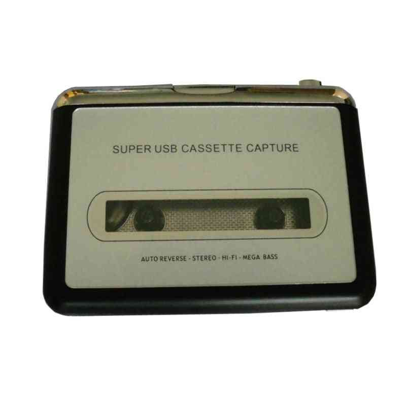 Usb Cassette Tape To Mp3 Converter -capture Adapter  Recorder & Player