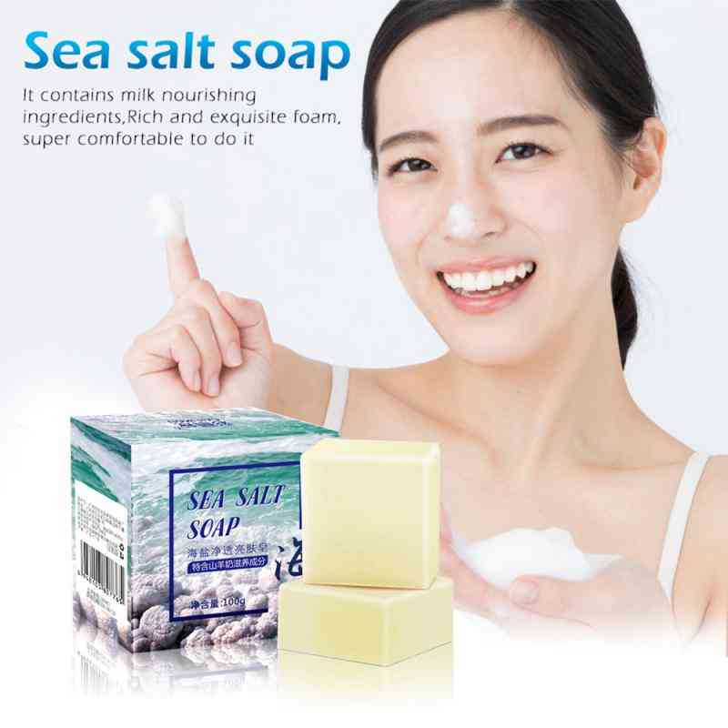 Face Soap Whitening Moisturizing - Remove Pimple Pores , Acne Treatment For Face Care