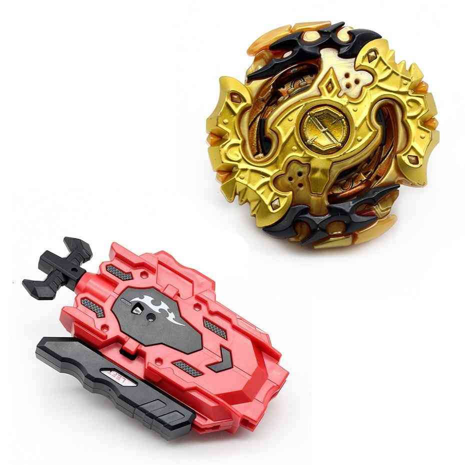Beyblade Burst With Launcher- Metal Plastic Fusion 4d For