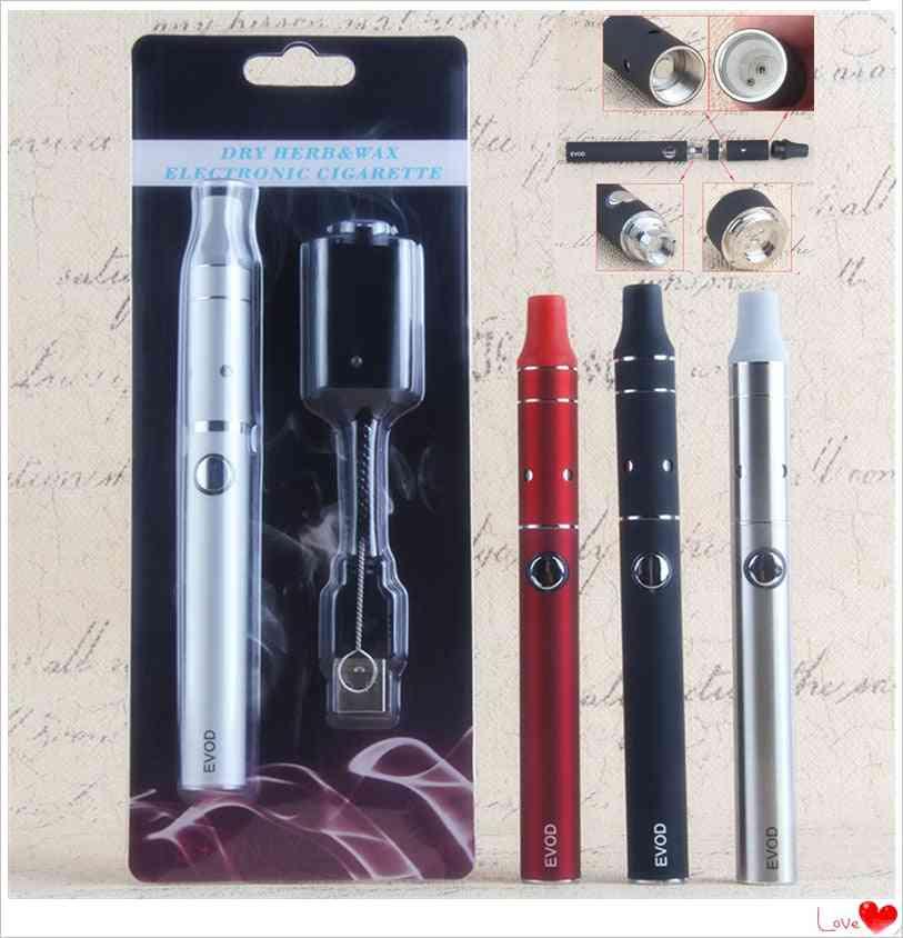 Tobacco Cigarette Cartridges 510 Thread Battery, Dry Herb Vaporizer Pen Kit