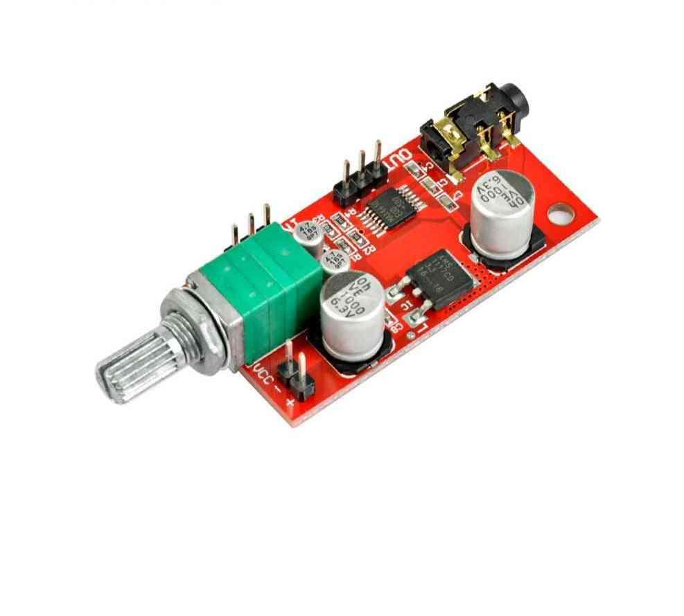Headphone Amplifier Board Headset With Single Battery Power
