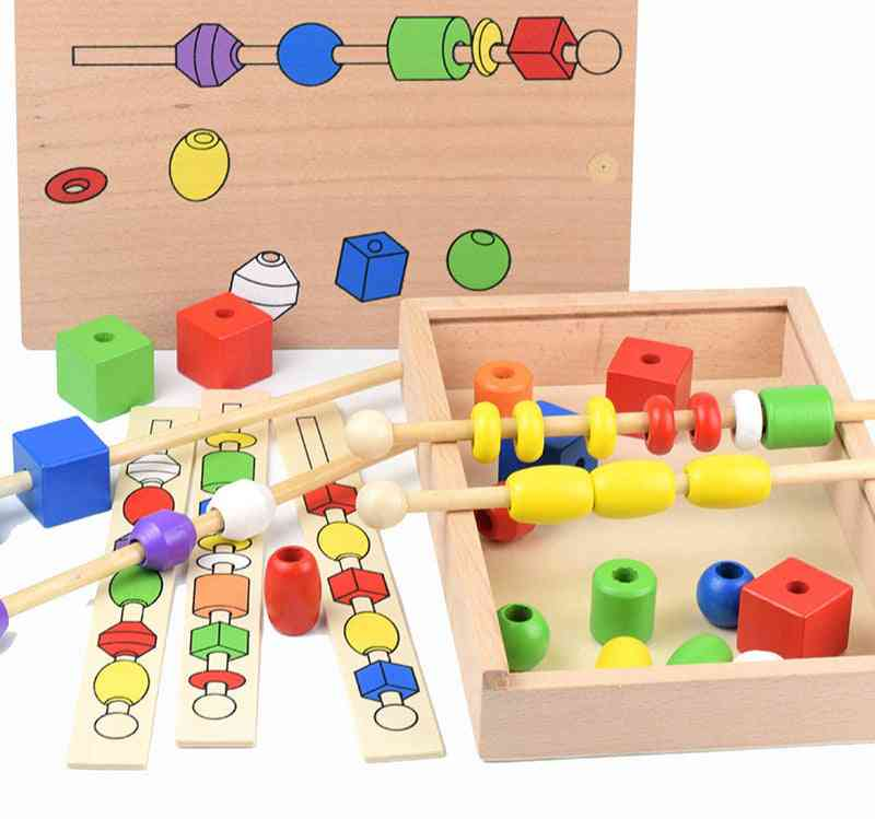 Montessori Baby Education Wooden - Early Learning For Birthday, Christmas, New Year