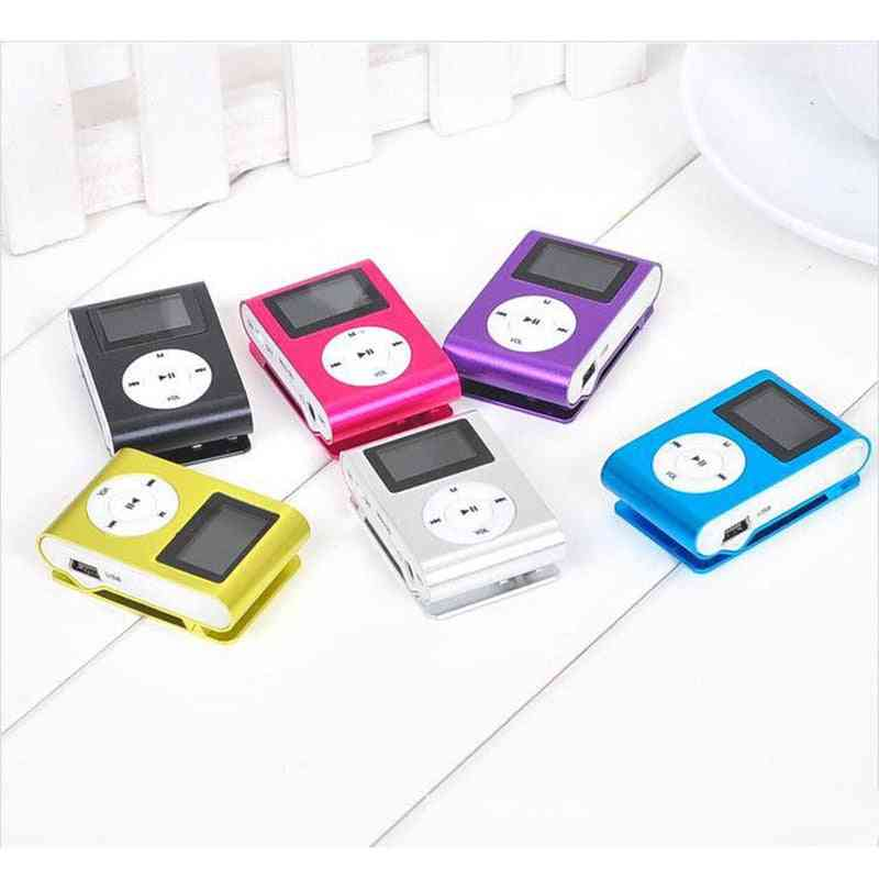 Mini Mp3 Usb Player With Lcd Screen