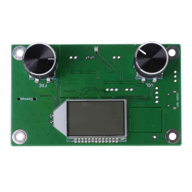 Professional 108mhz, Digital Fm Radio Receiver Module With Lcd Display