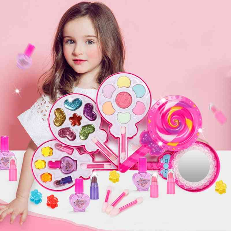 Washable, Safe And Non-toxic Make Up Set For-pretend Play