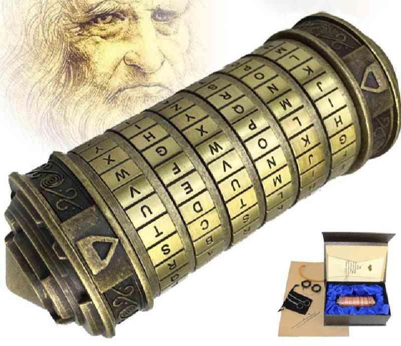 Cryptex Letter Locks - Magic Educational Building Blocks Set, Assemble Toy