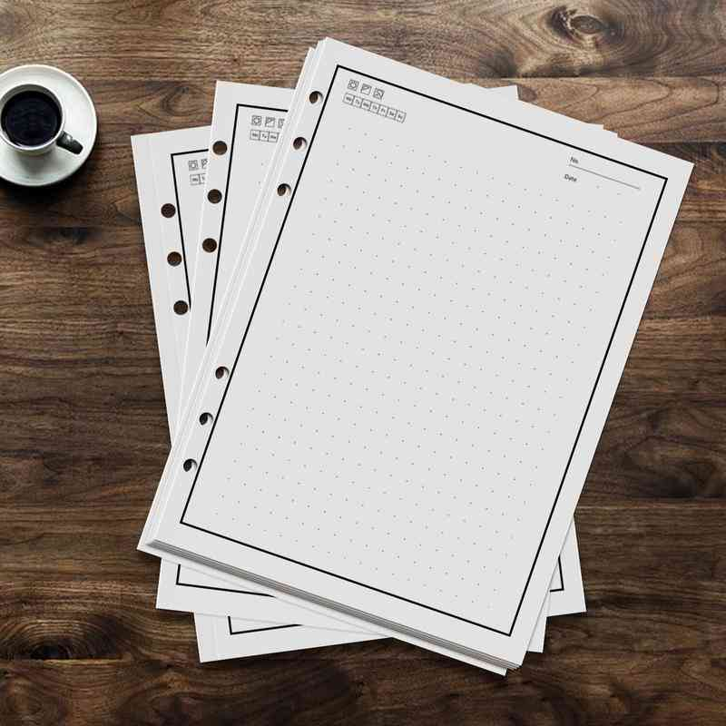Refill, Reusable, Smart Erasable Notebook Inner Paper, Compatible With Pu A5