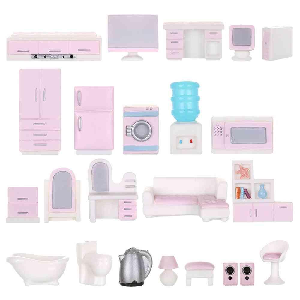 1pc Dolls Resin- Micro Landscape, Dollhouse Decor Simulation Fitment Miniature Furniture Kids