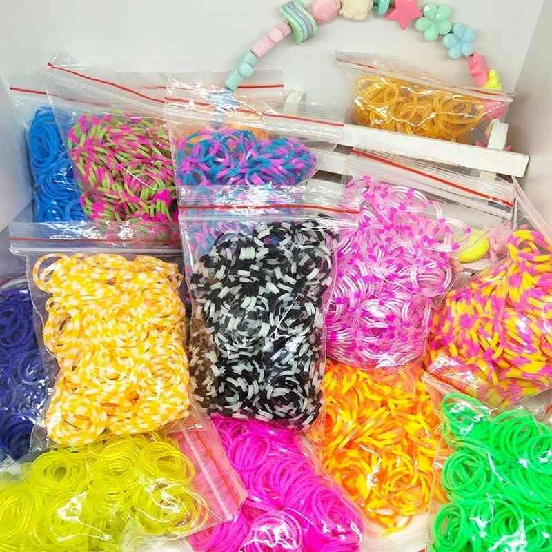 Rubber Loom Bands For Bracelet Silicone