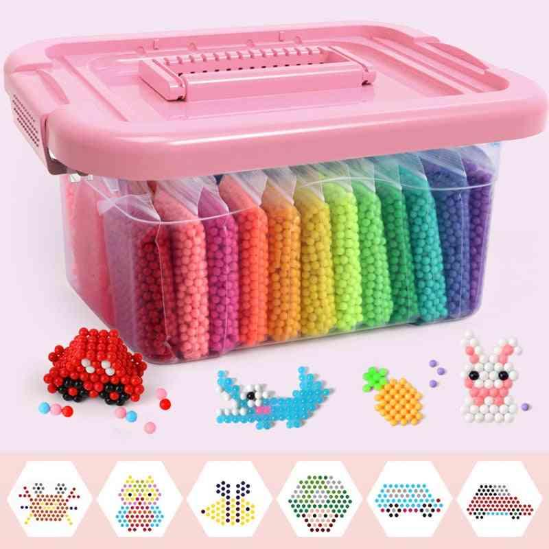 Water Beads Set For - Montessori Education Brain And Magic Box Handmade