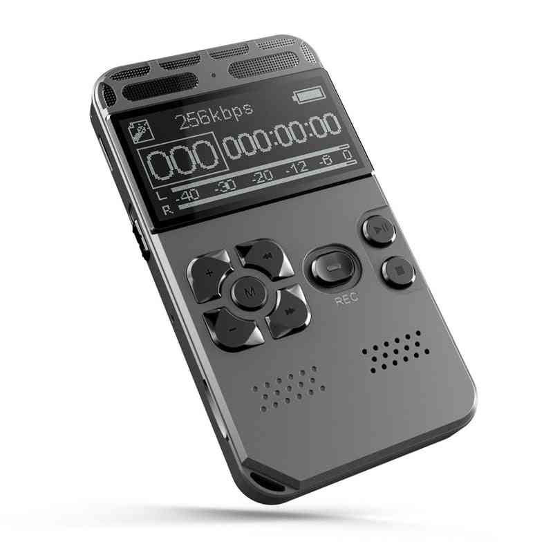 Professional Hd Digital Voice Recorder - One Button Record Noise Reducation