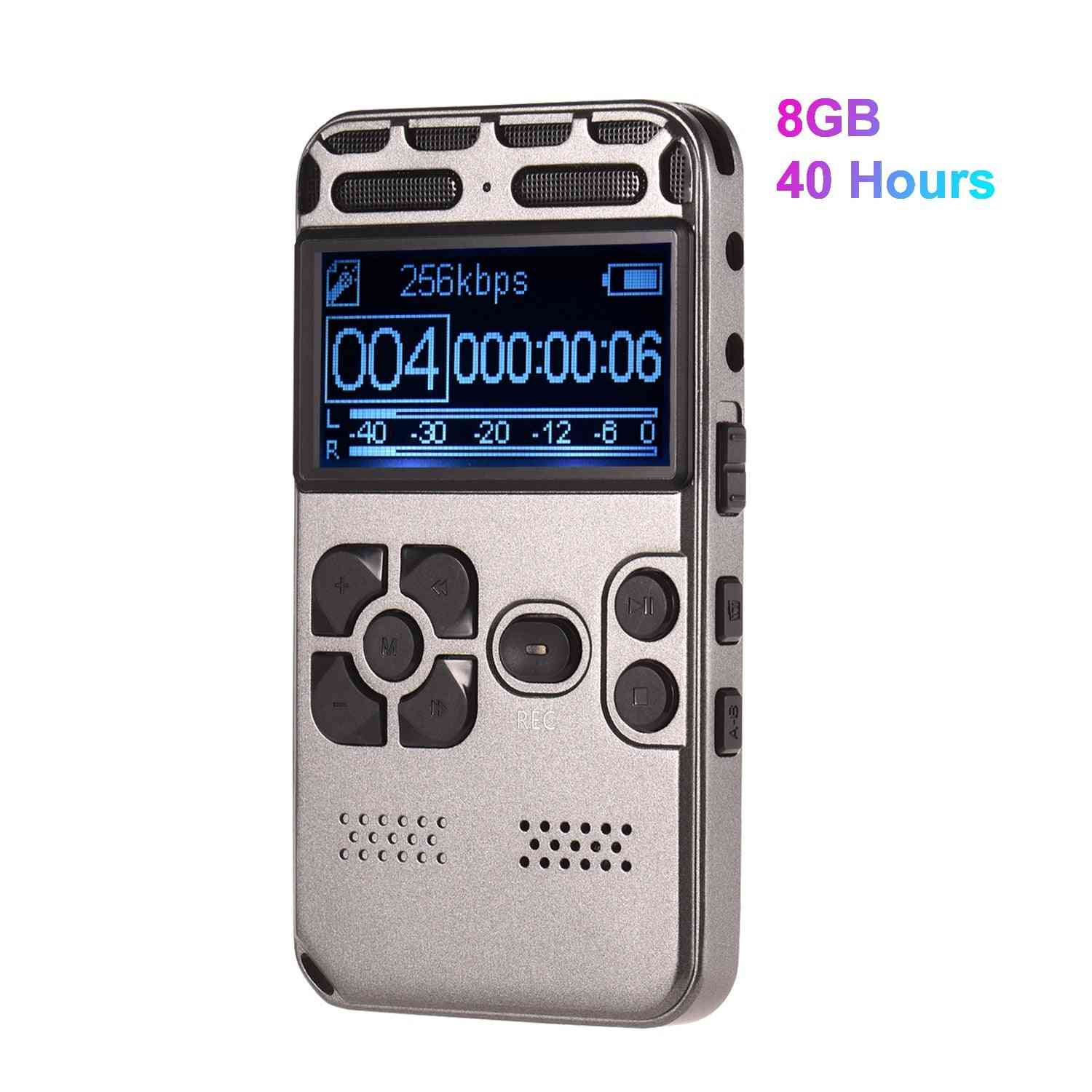 Professional High Definition Digital Sound Voice Recorder, Mp3 Player