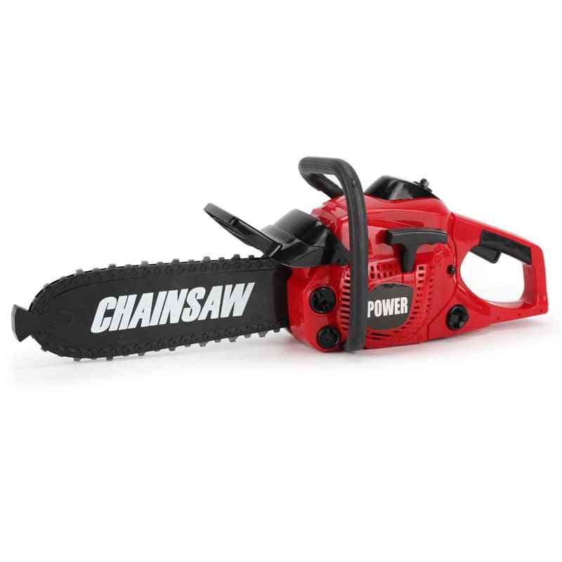 Electric Drill Chainsaw-children's Pretend Play