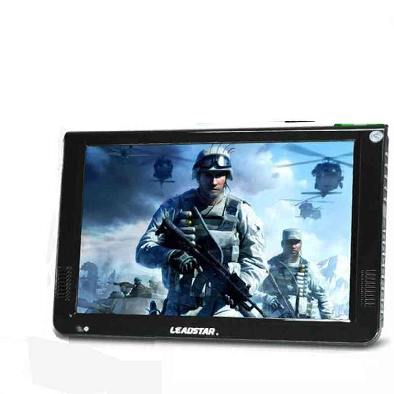 10inch Led, Portable 2 In 1 Digital And Analog Tv