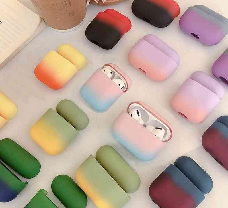 Colorful 2 In 1, 3 Protection Luxury Hard Earphone Cases For Apple Airpods, Pro 3 Fashion Boite