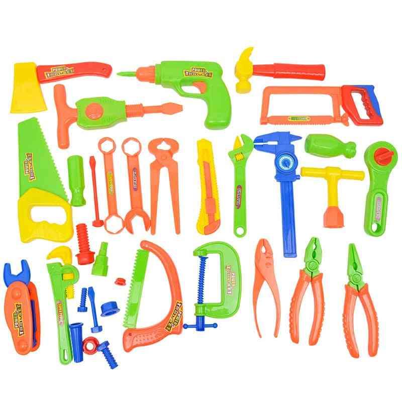 33pcs/set Of Simulation Electric Repair Tool Kit-kids Educational