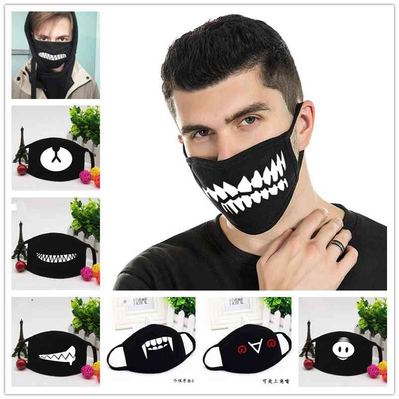 Halloween Themed Dustproof Face Mask For Adults