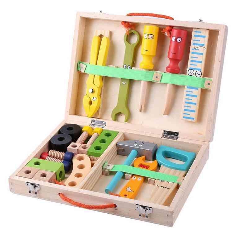 Multifunctional Wood Repair Set Tool, Portable Repair Tool Box