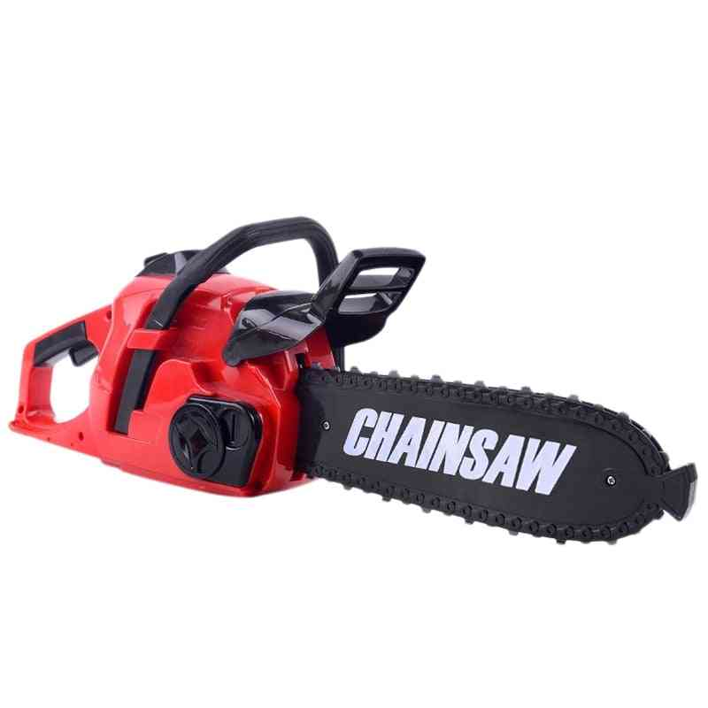 Pretend Play Tool, Rotating Chainsaw With Sound For