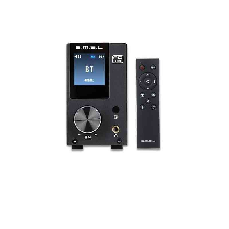 Ad18 Audio Digital Amplifier -bluetooth 4.2 Usb, Dac Amplifier Player, Dac Hifi Power Amplifier, 2.1stereo