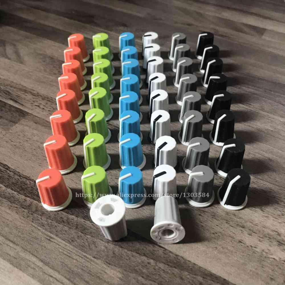 50pcs Eq Rotary Knob For Pioneer Dj Mixer Djm Colorful