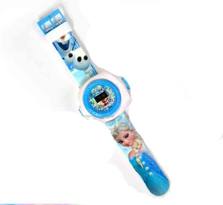 Children Wrist Watch - Projection Cartoon Pattern And