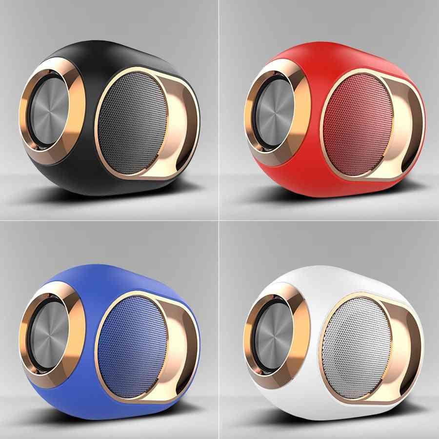 X6 Bluetooth Speaker - Tws Portable Wireless Loudspeakers, Outdoor Stereo Music