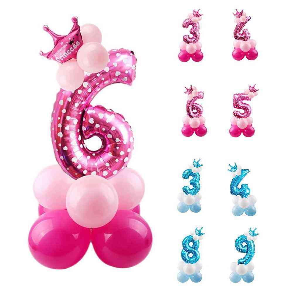Digital Balloons - Birthday Party Theme Decor