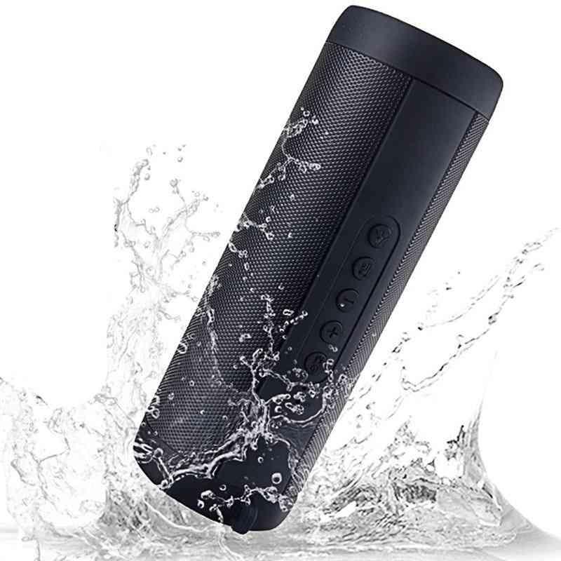 Wireless Bluetooth Speaker - Waterproof And Portable Bass Column