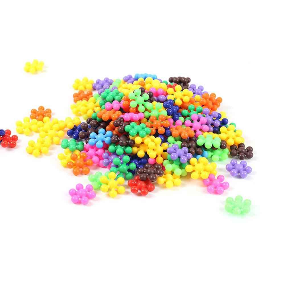 3d Plastic Snowflake Puzzle - Educational Toy