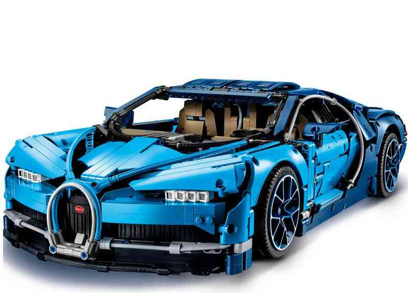 Bugatti Veyron Alloy Diecast Cars With Light & Sound