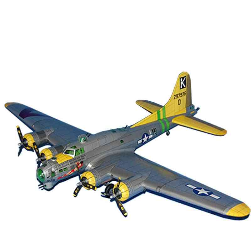 Air Fortress Bomber 3d Paper Model Space Library Papercraft