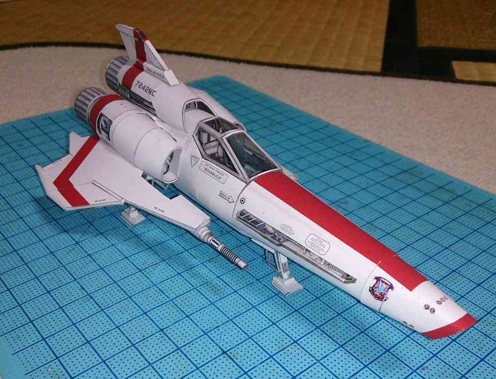 Battlestar Vipers  Paper Handmade Fancy Toy- Handicraft Decoration