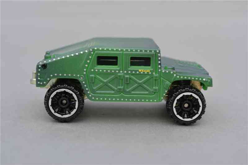 Wheels Discoloration Suv Alloy Car Model Toy
