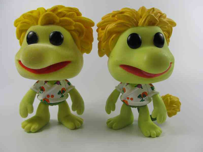 Imperfect Fraggle Rock - Flocked Collectible Action Figure Model Toy