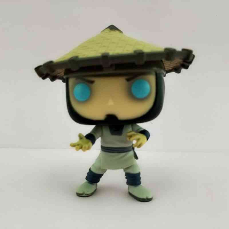 Funko Pop Secondhand Imperfect Games: Mortal Collectible Action Figure Kombat Spider-man Model Toy