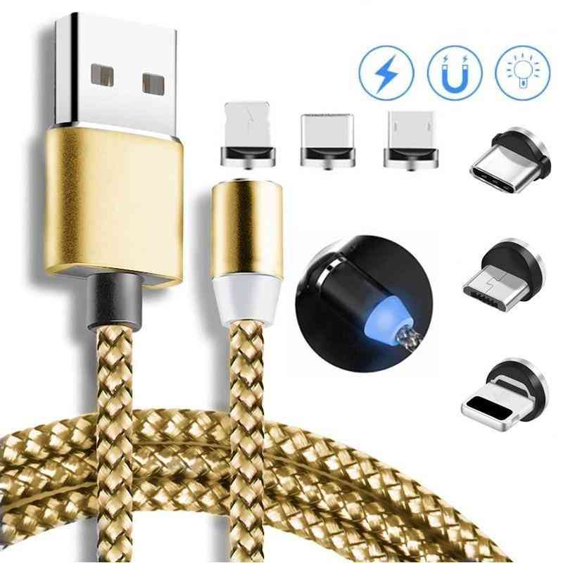Magnetic Micro Usb Cable, Fast Charging Usb Type C