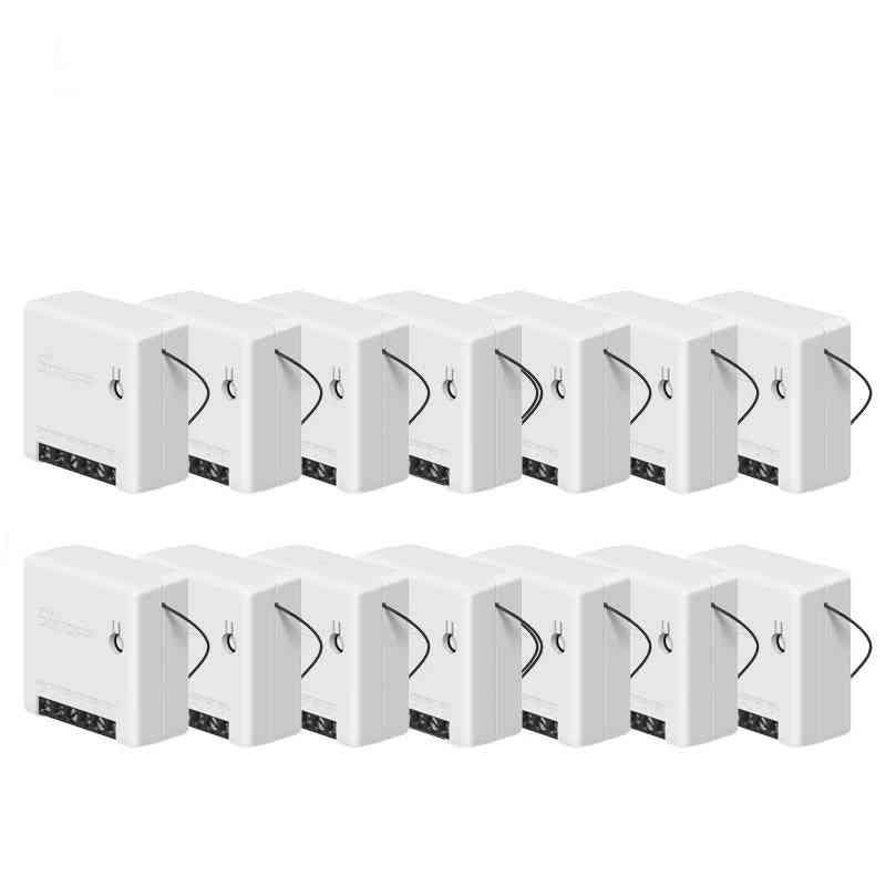 Mini Wifi Diy Smart Switch Compatible With Ewelink, Alexa, Google