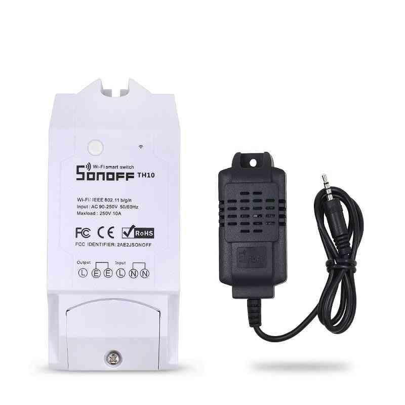 Waterproof Temperature Sensor Switch, Non-waterproof Humidity Temperature Monitoring Sensor  Probe Smart Module