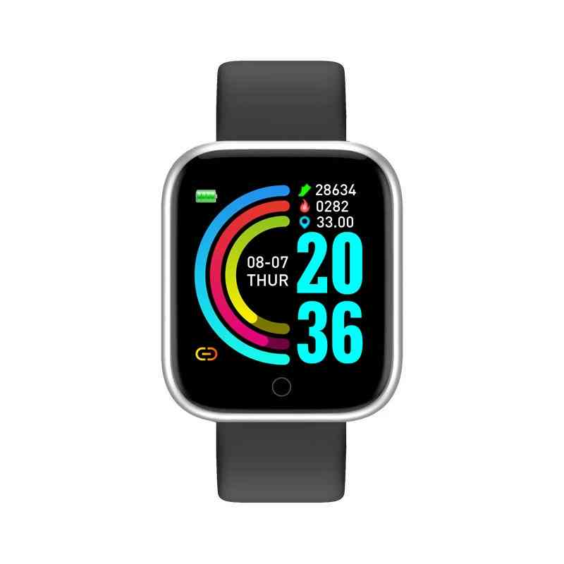 Waterproof Android Ios Smartwatch For Blood Pressure And Heart Rate Monitor
